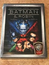 Batman & Robin (DVD, 2-Disc Special Edition) BRAND NEW / FACTORY SEALED - $5.77