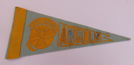 RARE 1961 LOS ANGELES ANGELS Baseball Mini Pennant 4 x 9 MLB ~FREE SHIPPING - $22.71