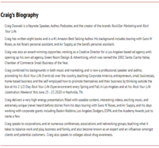 Craig Duswalt's Rockstar Marketing Package image 4