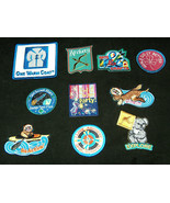 (10) Mixed GIRL SCOUTS OFFICIAL BADGES Patches for Sash or Vest Journey NEW - $18.59