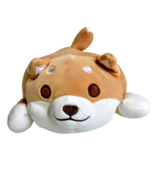 Squishy Shiba Inu Plush Pillow Dog Stuffed Toy Kawaii Cute Corgi Puppy T... - $35.28