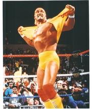 Hulk Hogan Shirt Vintage 16X20 Color Wrestling Memorabilia Photo - $30.95