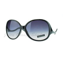 Womens Polarized Lens Sunglasses Oversize Round Curved Designer - $12.95