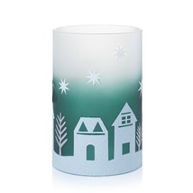 Yankee Candle Winter Village Double Tea Light Candle Holder - $22.00