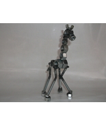 Giraffe Metal Sculpture Figurine - $24.99
