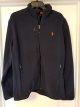 Men's $135. (L) POLO-RALPH LAUREN Navy Polar Fleece Zip PONY Jacket (Pol... - $87.10