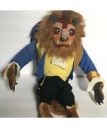 VTG Vintage 1990s Disney Beauty the Beast Prince Plush Stuffed Animal Do... - $139.99