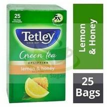 Tetley Green Tea Blood Purifier LEMON & HONEY 25 Tea Bags - $7.62