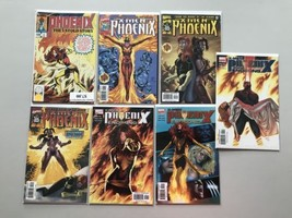 Lot 13 Phoenix The Untold Story #1 X-Men #1-3 X-Men Phoenix Endsong VF V... - $19.80