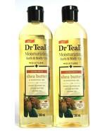 2 Dr Teal's Moisturizing Bath & Body Oil  Shea Butter Almond Jojoba Oil ... - $28.99