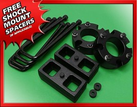 "For 2005-2020 Toyota Tacoma 2WD 4WD 3"" Fr + 2"" Rr Leveling Lift Kit Blac... - $120.00"