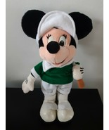 "Vintage Disney Parks Minnie Mouse Golf Plush Stuffed Animal 14"" Tall 80'... - $18.76"