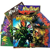 Man-Thing Comic Book Lot 7 Issue Run 1-7 Marvel 1997 VF NM Strange Tales Namor - $14.80