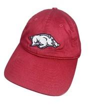 Arkansas Razorbacks Signatures Brand OSFA Snapback Hat Red  - $11.87