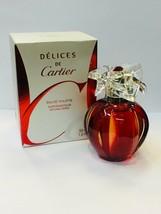 Delices De Cartier 1.6oz/ 50ml Eau De Toilette Spray Women - $119.99