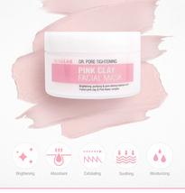 Skin & Lab Pink Clay Facial Mask image 2