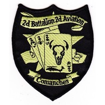 US Army 2nd Battalion 2nd Aviation Attack Regiment C Company OD Patch - $11.87