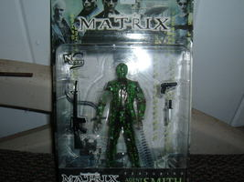 Matrix Action Figure Agent Smith 1999 - $15.00
