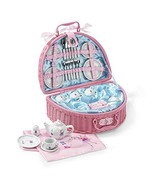 Lucy Locket Fairy Tale Picnic Basket and Tea Set for Children 32 Piece C... - $27.92