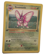 Pokemon Card - 1st Edition Venomoth - (29/64) Jungle Set Rare Non Holo ***NM*** - $4.99