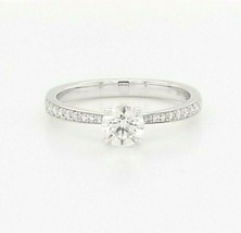 Hearts on Fire Diamond Engagement Ring 18K White Gold  $5,700 Retail, Si... - $3,385.80