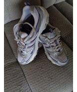 Skechers D'Lites Womens Tennis Shoes Size 9 White Purple Gray 11562 Runn... - $34.99