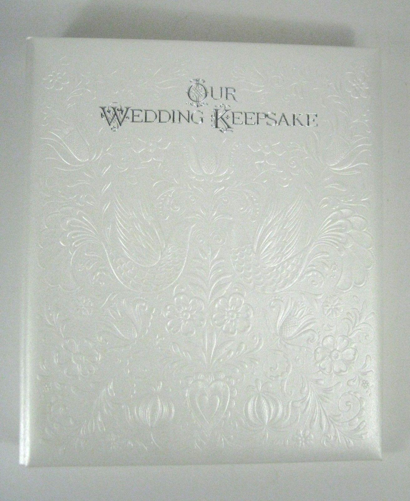 Hallmark Wedding Album White Silver Text And 50 Similar Items