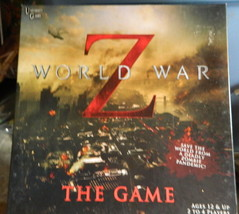 Z World War The Game  Board Game--Complete - $12.00