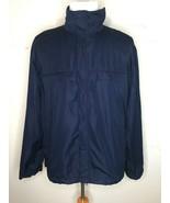 Polo Golf Ralph Lauren Men's Full Zip Packable Jacket Windbreaker Blue S... - $29.95