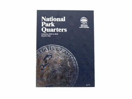 Whitman Coin Folder/Album, National Park Quarter # 1 2010-2015 P&D - $5.99
