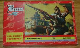 Bum 5004 Militian Army 1:72 Model Kit Guerra Civil Espanola 1936 1939 36... - $8.79