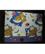 Garfield Blanket Polyester Wall Hanging Pookie Bear Blanket Stiff Fabric - $26.72