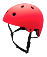 NEW EVO7 Adult Bike Skateboard Sporting Helmet Matte Red Large EN1078 - $28.40