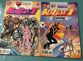 KoBalt Comic Books No 5 and 7 DC Comics October and December - $19.55