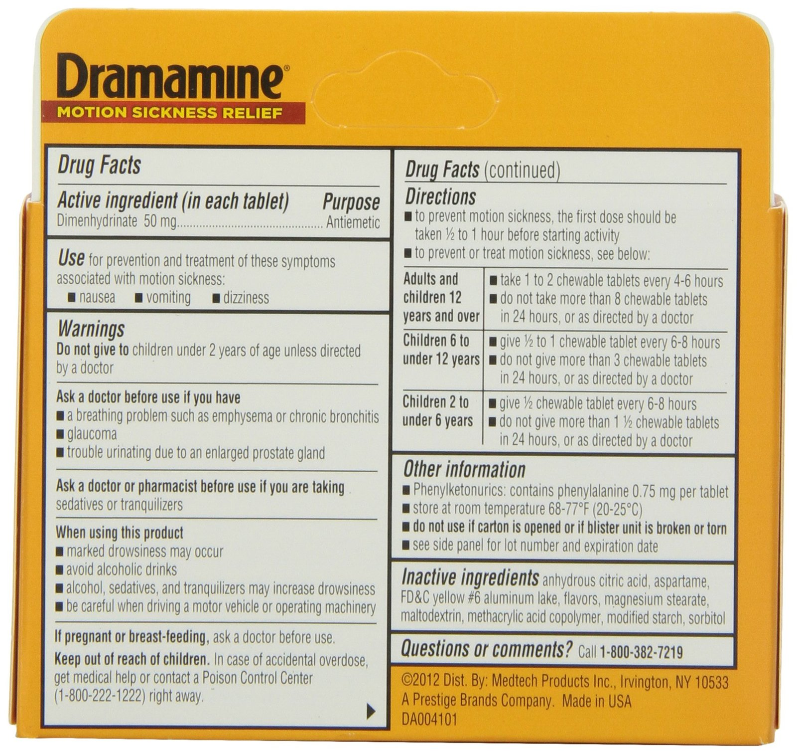 Dramamine Motion Sickness Relief Chewable and 31 similar items