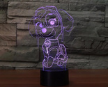 On cute robot dog desk lamp 7 color change cartoon modelling touch light fixture 0 thumb155 crop