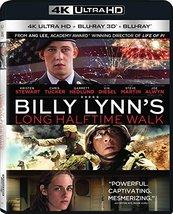Billy Lynn's Long Halftime Walk [4K Ultra HD + 3D + Blu-ray, 2017]