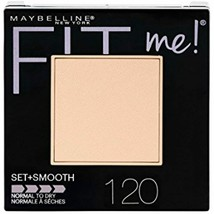 Maybelline New York Fit Me Set + Smooth Powder Makeup, Classic Ivory, 0.... - $6.90