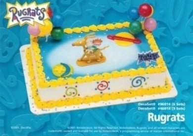 Rugrats Kids Cake Topper Cupcake Decoration And 50 Similar Items