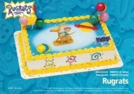 Rugrats Kids Cake Topper Cupcake Decoration Kit Party Reptar Wagon Tommy - $16.78