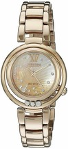 Citizen Eco-Drive EM0323-51N Eco-Drive Sunrise Rose Gold Tone Stainless Watch - $436.10