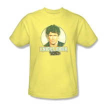 Knight Rider T-shirt Free Shipping 1980s Hasselhoff K.I.T.T. cotton tee NBC494 image 1