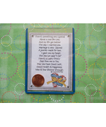 """Husband"" Shiny Lucky Penny Magnetic or Tuck-in... - $6.00"
