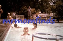 Vtg 35mm Sllide July/1962 Ektachrome ~ Family w/ kids playing water bask... - $9.89