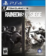 Tom Clancy's Rainbow Six Siege - PlayStation 4 [video game] - $25.33
