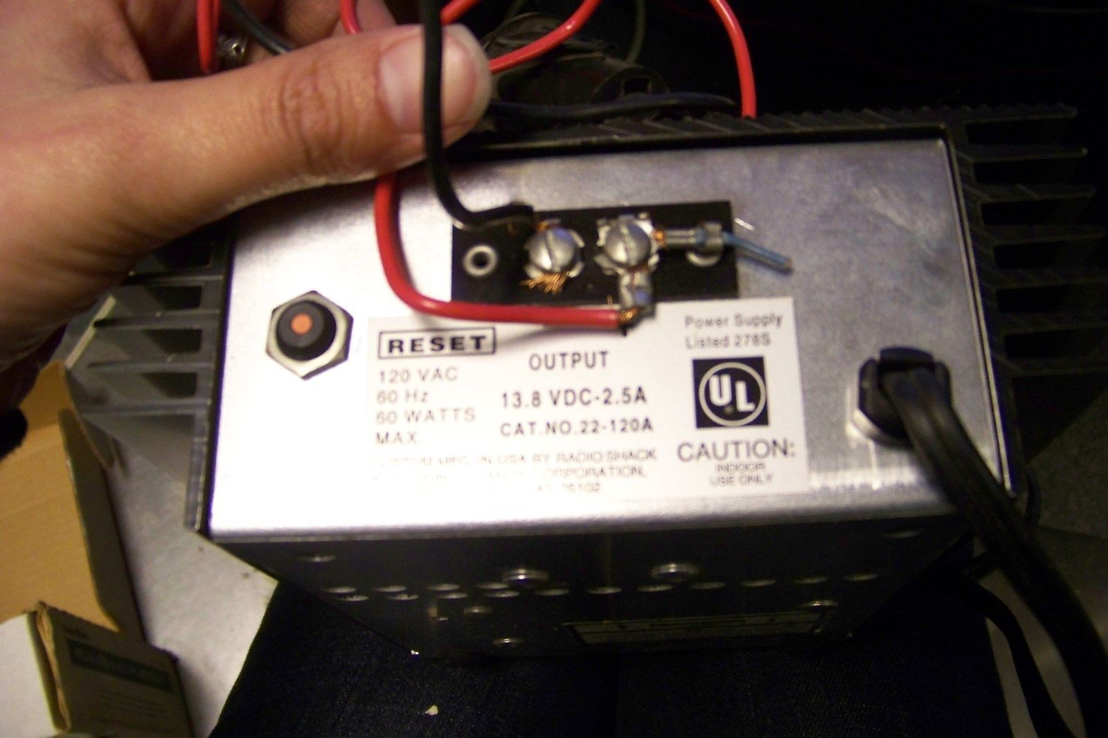 Micronta 22 120a Regulated 12 Volt Power And 25 Similar Items Supply