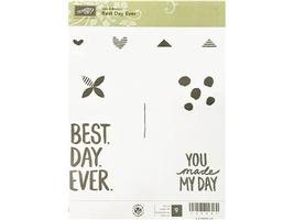 Stampin' Up! Best Day Ever Stamp Set #139091 - $13.99