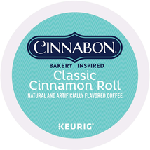 Cinnabon Classic Cinnamon Roll, Single-Serve Keurig K-Cup Pods, Flavored Coffee, - $35.43