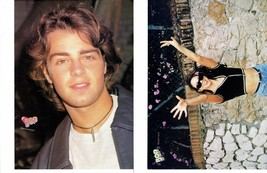 Joey Lawrence Mariah Carey teen magazine pinup clippings Tiger Beat Bop