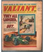 Valiant 12/30/1967-Fleetway-tabloid-F-1 race car-Steel Claw-Mytek-U.K.-FR/G - $25.22